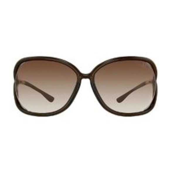 72c878240972 NEW TOM FORD BROWN RAQUEL OVERSIZED SUNGLASSES. Listing Price   135